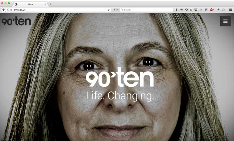 90Ten Healthcare website