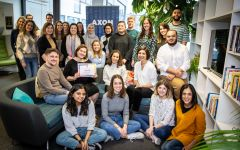AXON recognised for 'excellence in wellbeing' by Great Place to Work
