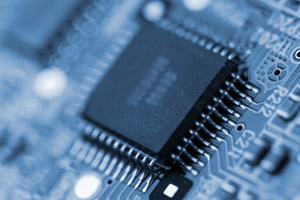 Chip in motherboard