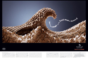 Pegasys and Roche's advert for a hepatitis C treatment