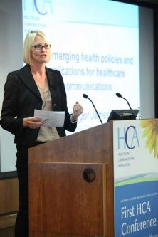 Margot James at the HCA Conference 2010