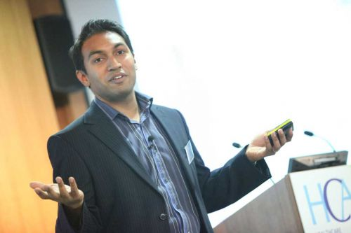 Shuva Saha, Google UK, at the HCA Conference 2010