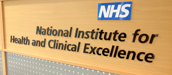 NICE National Institute for Health and Clinical Excellence