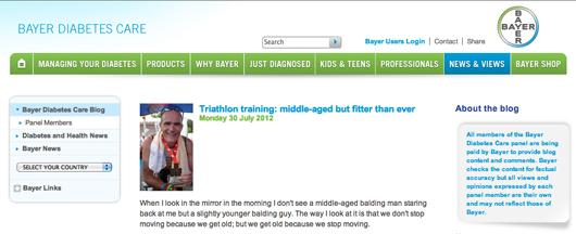 Bayer UK diabetes blog