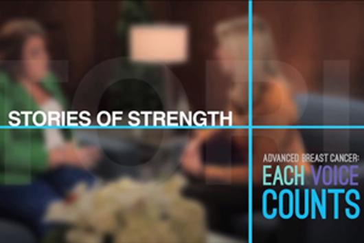 Novartis YouTube advanced breast cancer talk show