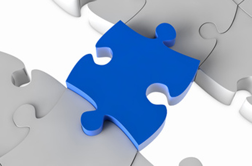 Bridging the divide jigsaw