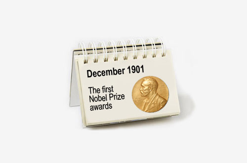 Month in which the nobel prizes are awarded