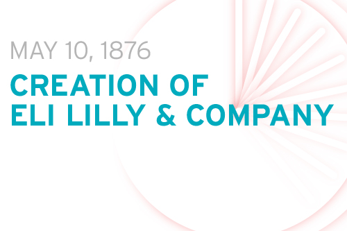 This month in 1876: Creation of Eli Lilly & Company - PMLiVE
