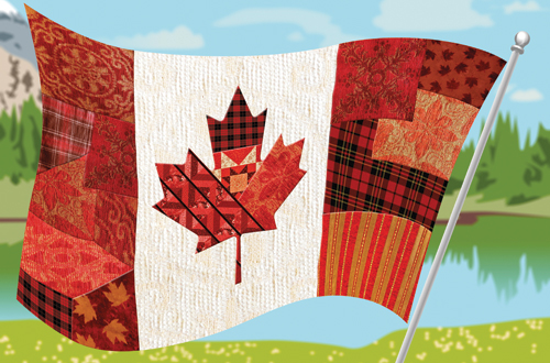 Canada Flag diversity