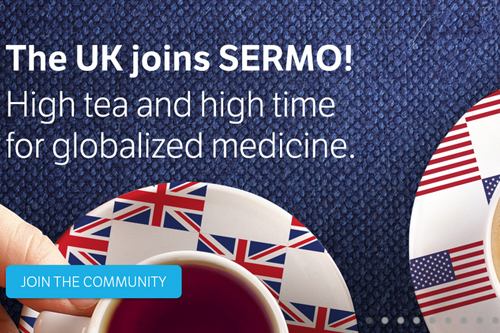 Sermo US online physician community in UK