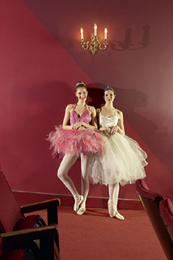 A pair of ballerinas
