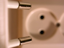 An electrical plug