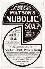 Watson's Nubolic Soap (1904)