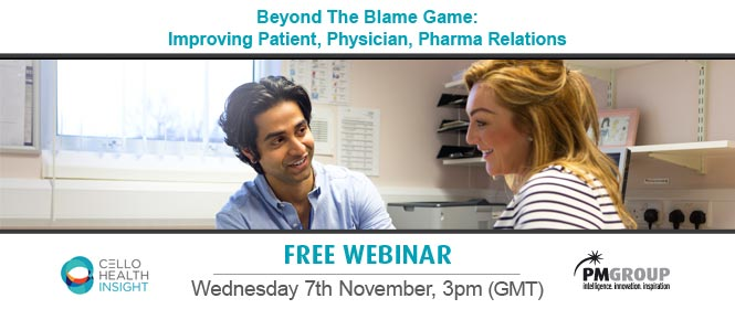 Beyond the blame game: improving patient, physician, pharma relations