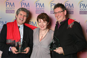 John Flaherty, Angela McFarlane and Richard Rayment
