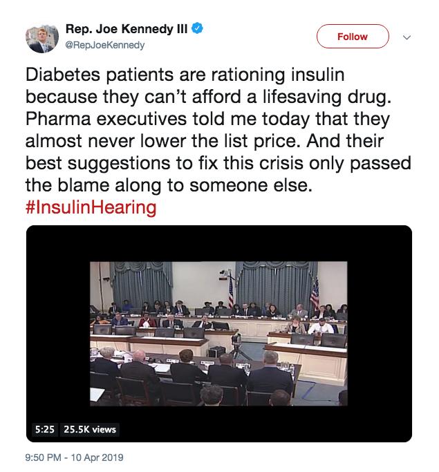 Kennedy tweet