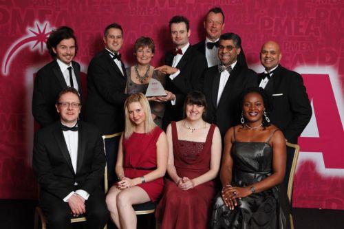 Customer Focus Award winner PMEA 2011