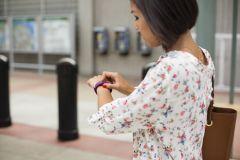 Fitbit wearable fitness tracker