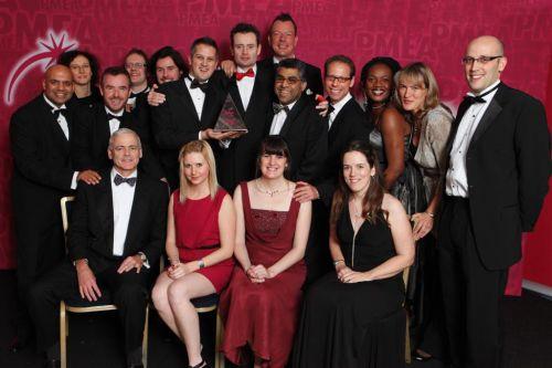 Healthcare Collaboration Award winner PMEA 2011