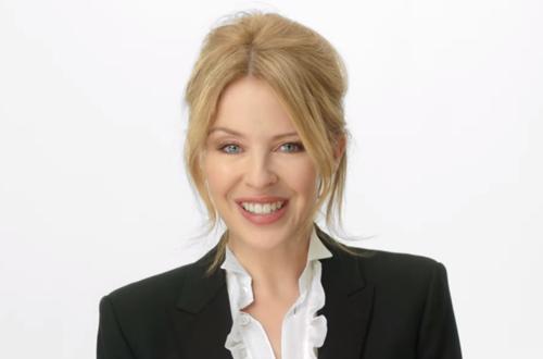 Kylie Minogue cancer campaign
