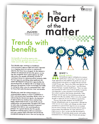 The Heart of the Matter 8: Trends with benefits