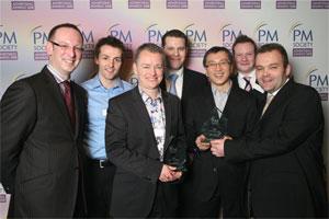 Otis Baker, Gareth Coady, Andy Barnard, Jonathan Sweeting, Philip Chin, Richard Wadrup and Mark Young