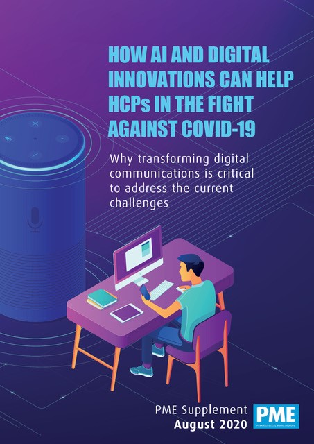 How AI and digital innovations can help HCPs in the fight against COVID-19