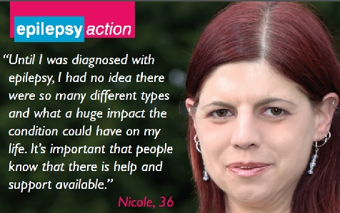 Epilepsy Action poster