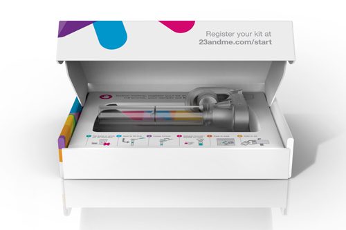23andMe genetic testing kit