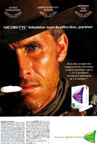 Nicorette Advert