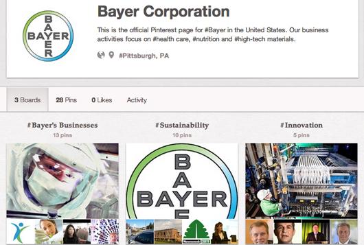 Pharma company Bayer on Pinterest