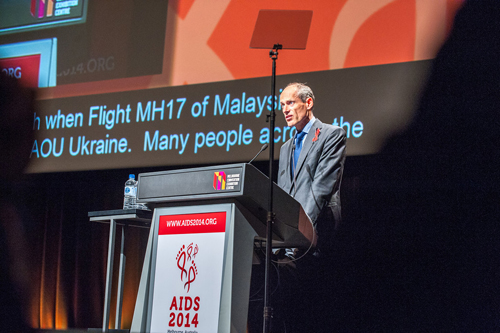 20th International Aids Conference Melbourne Australia MH 17 Malaysian Airlines Lambert Grijns