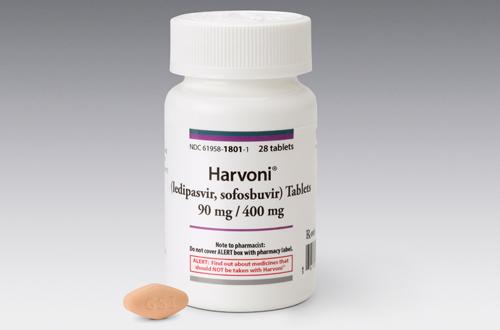 Harvoni packshot