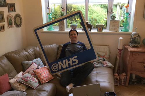 NHS twitter curator Richard Orchard