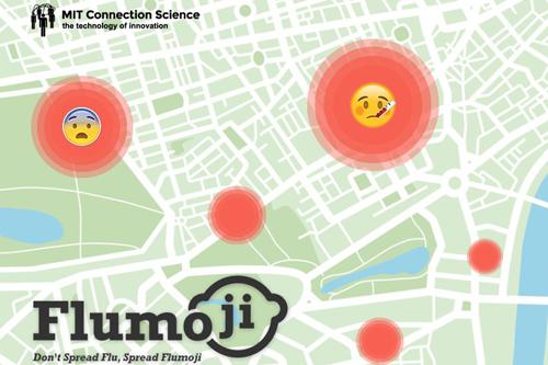 GSK GlaxoSmithKline MIT Connection Science Flumoji mobile Android app