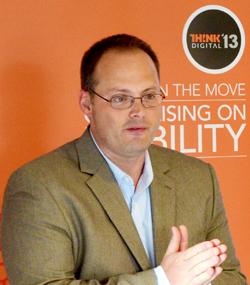 Geoff McCleary Digitas Health Think Digital 2013