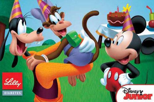 Lilly Disney diabetes books