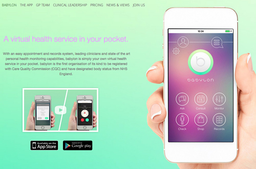 babylon virtual health service