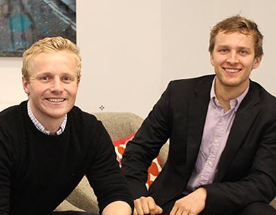 Rob Mackichan and Nick Greenway