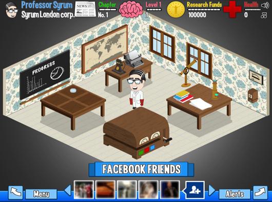 Boehringer Ingelheim Facebook game Syrum lab