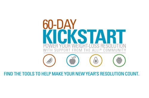 GSK 60 day kickstart alli weight loss