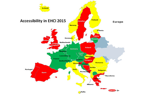 Accessibility in EHCI 2015