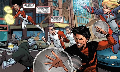 Takeda and Marvel