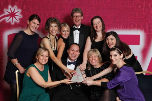The Saatchi & Saatchi Health Product Launch Award winner PMEA 2011