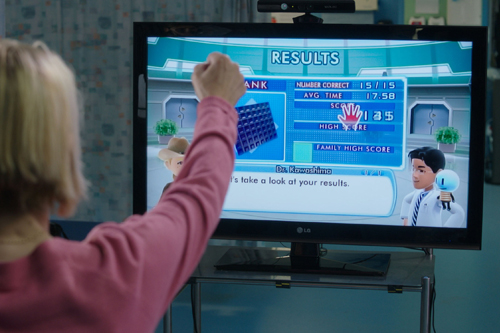 Kinect stroke patient rehabilitation