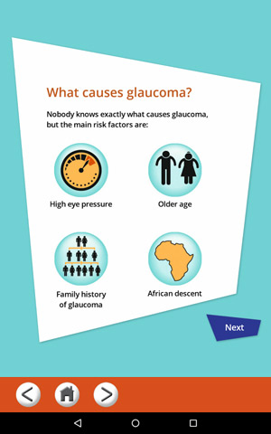 Allergan glaucoma mobile app iPhone Android