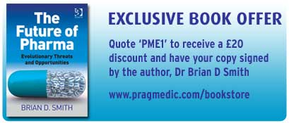 Exclusive book offer - the Future of Pharma, £20 discount