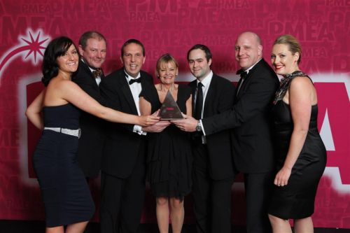 Brand Marketing Excellence Award winner PMEA 2011