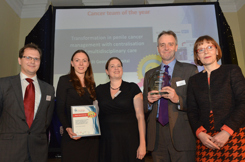 QiC Oncology Cancer Team of the Year