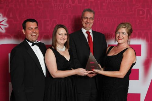Integrated Marketing Award for Medical Devices / Diagnostics winner PMEA 2011